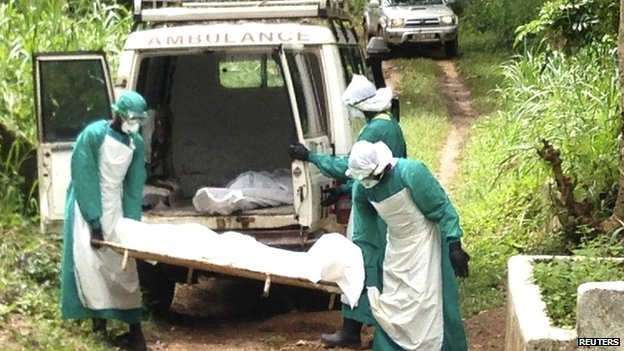 The Ebola cases in Sierra Leone are centred in the country's eastern districts of Kailahun and Kenema