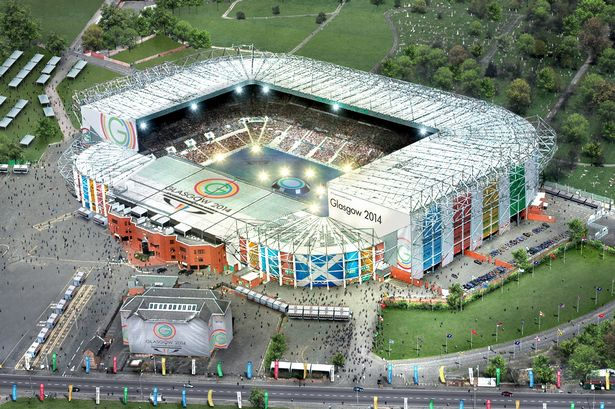 How it will look tonight at the home of my team, Celtic FC