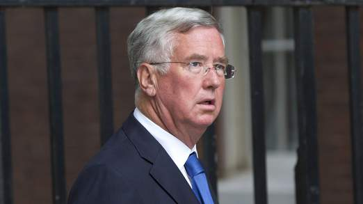 Michael Fallon was recently appointed as Defence Secretary