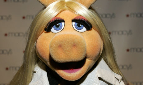 Turns out it was Miss Piggy. Well done Miss Piggy.