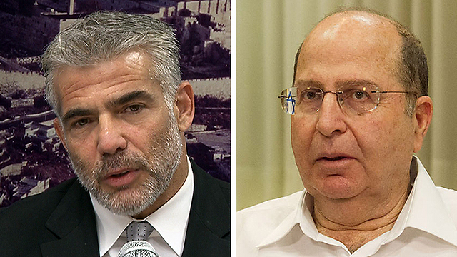 Finance Minister Yair Lapid / Defense Minister Moshe Ya'alon