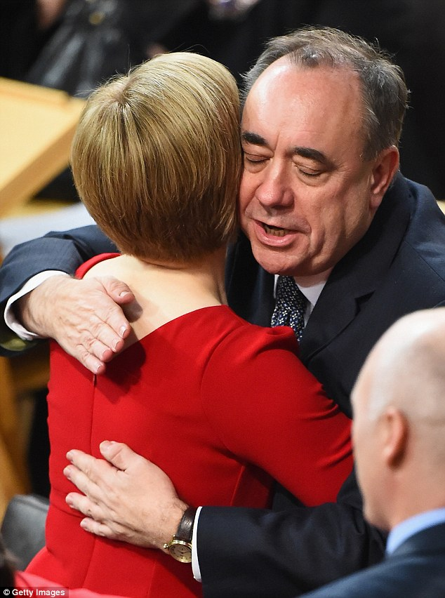 It was emotional, but Nicola will now go and make History