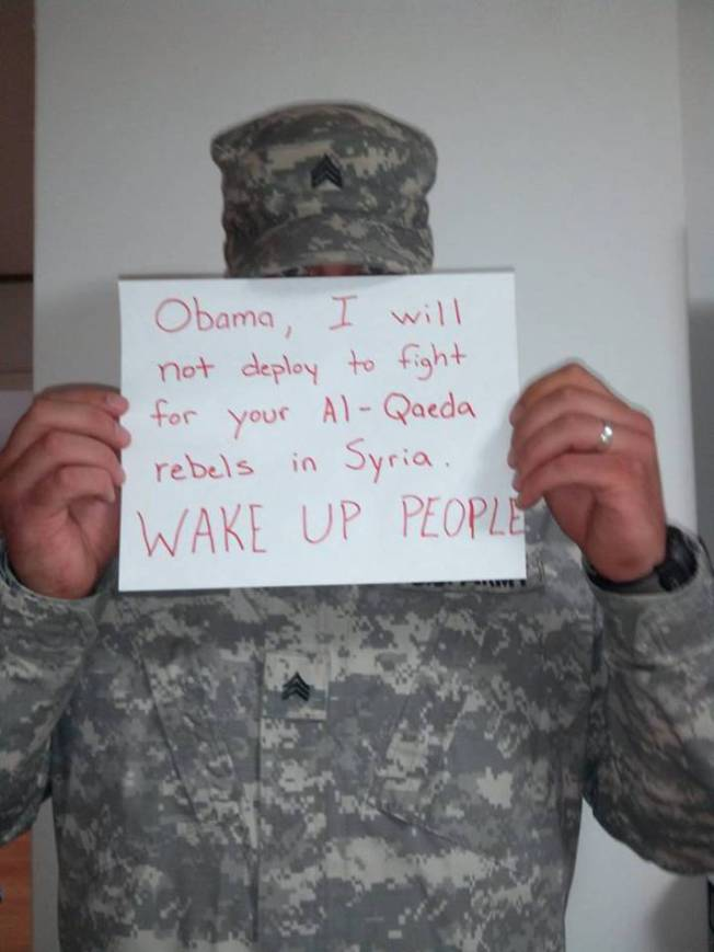 Who is this lad telling to wake up? And why? Makes no difference, nobody will take notice as Obama has blind followers, even they know he is wrong, but are stubborn, right?