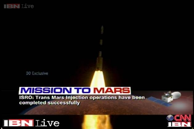"""Mangalyaan is among the 25 'Best Inventions of 2014' listed by Time magazine that are """"making the world better, smarter and-in some cases-a little more fun."""""""