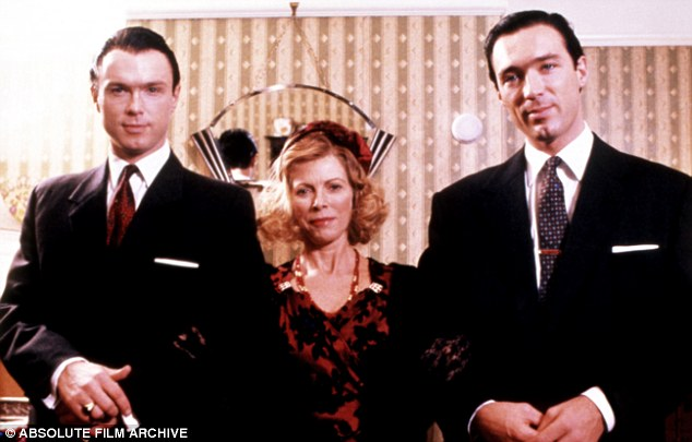 Actress Billie Whitelaw, pictured in the Krays, has died aged 82 at a nursing home in London