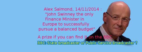 Scotland is the only state in Europe never to have a deficit