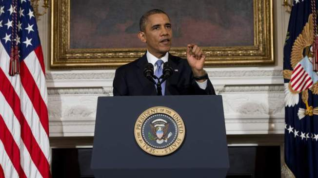Obama Says Washington Must Change