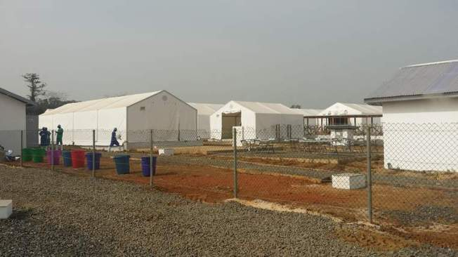 Take A Tour Of An Ebola Clinic