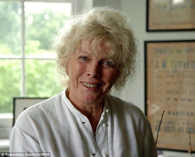 'A perfect actress': Whitelaw (pictured in 2005) met Samuel Beckett in 1963, working with him until the playwright's death