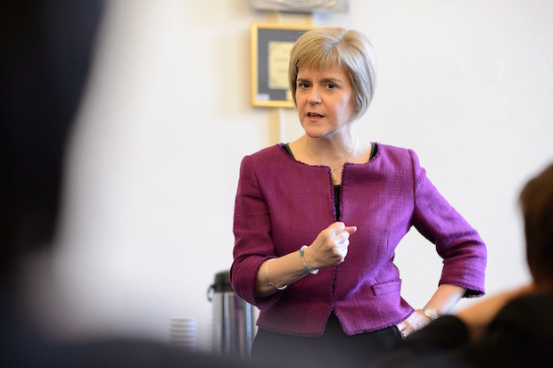 This woman means business! Make no mistake, she WILL free Scotland