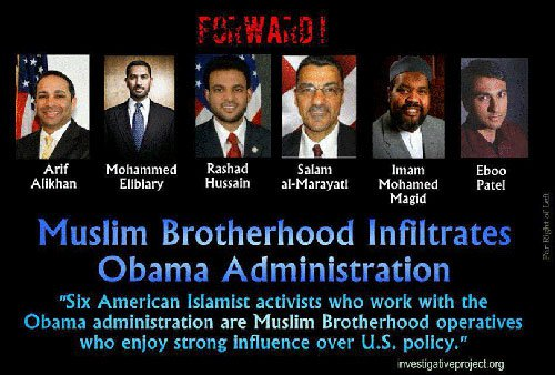 Obama has been sacking Americans and bringing in Muslims