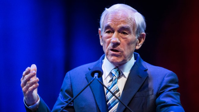 Former US Representative Ron Paul