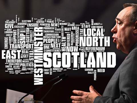 Mr Salmond set out his plans in a speech in Ellon, Aberdeenshire.