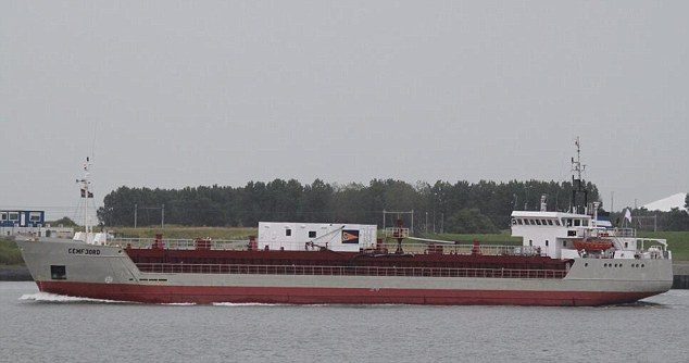 e Cypriot-registered Cemfjord, a cargo ship carrying cement, pictured, was last seen Friday afternoon
