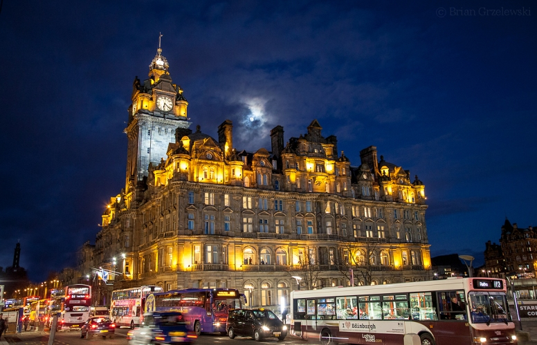 The Balmoral Hotel, 5 star hotel, one of the better Edinburgh hotels
