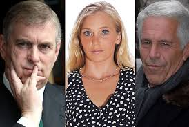 Prince Andrew, Virginia Roberts and convicted sex abuser and Royal friend Jeffrey Epstein
